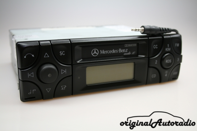 Mercedes Audio 10 BE3100 MP3 AUX-IN Becker Kassette Autoradio