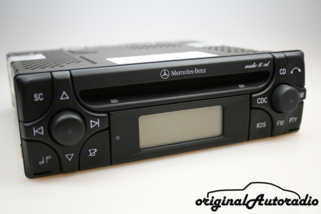 Mercedes Audio 10 CD MF2910 CD-R Alpine Becker Original Autoradio