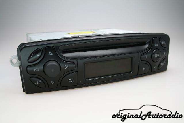 Radio diafragma para mercedes clk c209 06//2002-03//2004 para 1-din radio