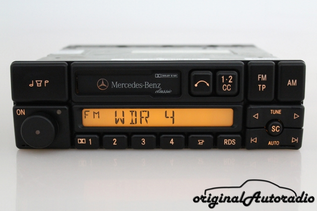 Mercedes Classic BE1150 Kassette CC Original Becker Autoradio