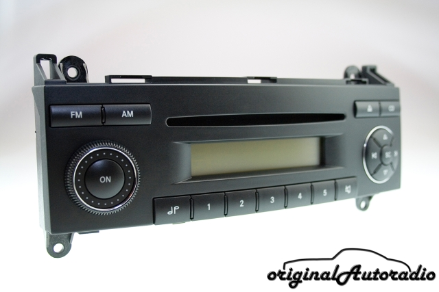 Mercedes Sound 5 BE7076 Becker Original Autoradio CD Radio