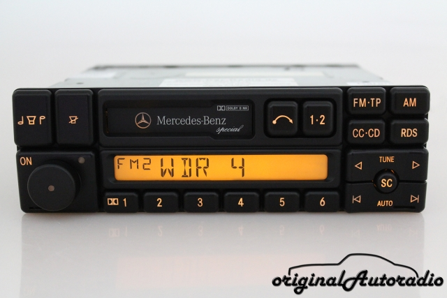 Mercedes Special BE1350 CC Kassette Original Becker Autoradio