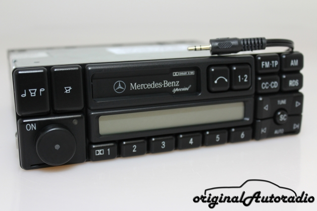 Mercedes Special BE1350 AUX-IN MP3 Becker Kassette Autoradio RDS