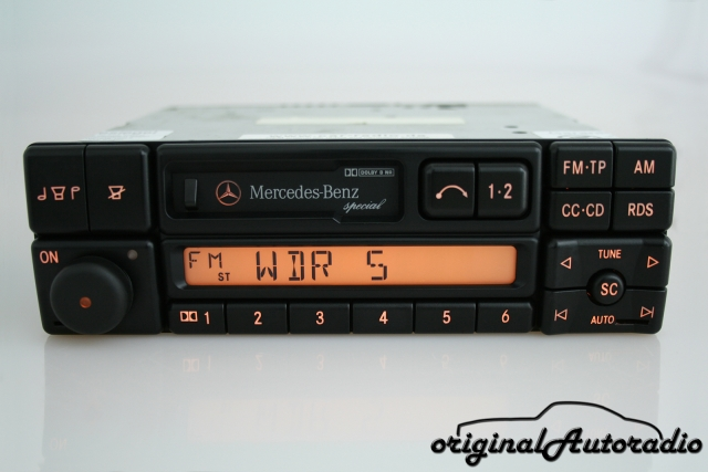 Mercedes Special BE1650 CC Becker Kassette Original Autoradio
