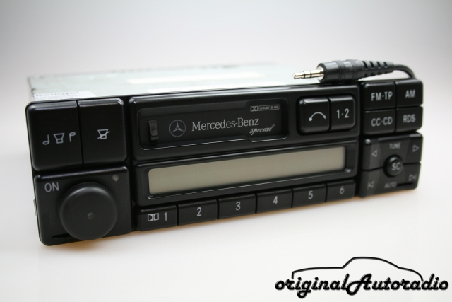 Mercedes Special BE1650 AUX-IN MP3 Becker Kassette Autoradio RDS
