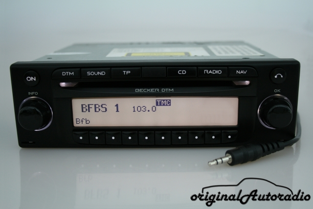 Becker DTM BE7802 Navigationssystem AUX-IN RDS Autoradio