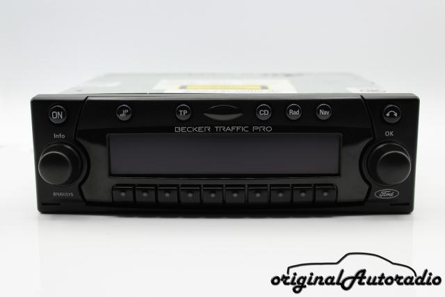 Becker Traffic Pro BE4720 Navigationssystem AUX-IN RDS Autoradio GPS CD-Radio