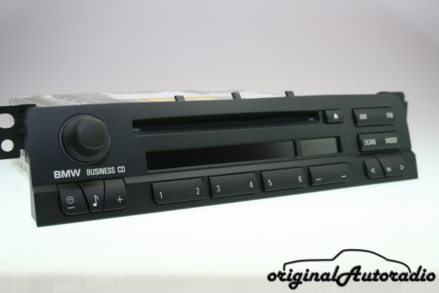 BMW E46 Radio Business CD CD53 E46 3er Original Autoradio RDS