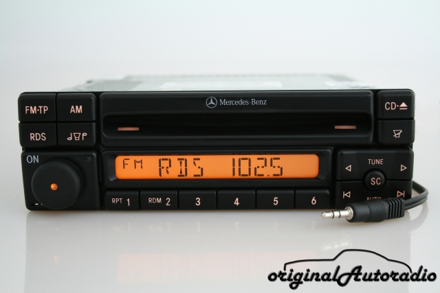 Mercedes Special MF2297 AUX-IN MP3 Alpine Becker CD-R Autoradio