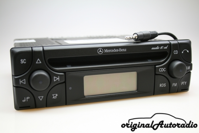 Mercedes Audio 10 CD MF2910 AUX-IN MP3 Alpine Becker Radio CD-R