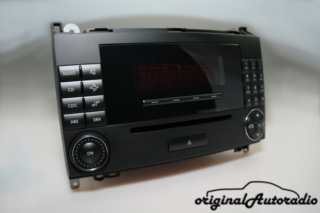 Mercedes Audio 20 CD MF2750 CD-R Original Autoradio W639 V639 Vito Viano