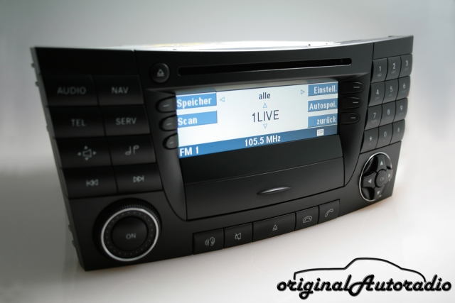 Mercedes Audio 50 APS BE6025 CD CC W211 S211 E-Klasse Navigation