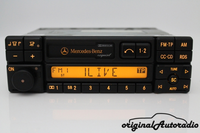 original original mercedes radios. Black Bedroom Furniture Sets. Home Design Ideas