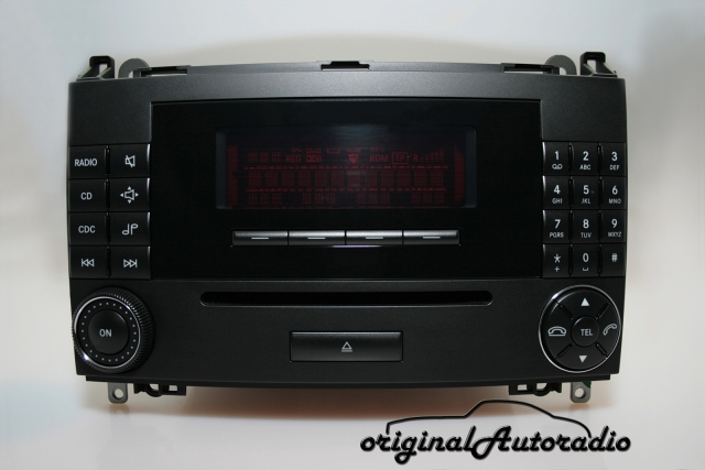 original-autoradio.de - mercedes audio 20 cd mf2550 cd-r original