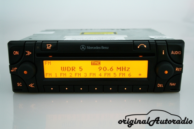 Mercedes Sound 30 APS 7006 CD Becker Original Navigationssystem