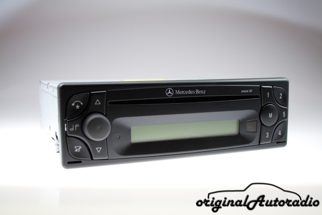 Mercedes Sound 30 BE4613 CD-R Becker Original Autoradio RDS Radio