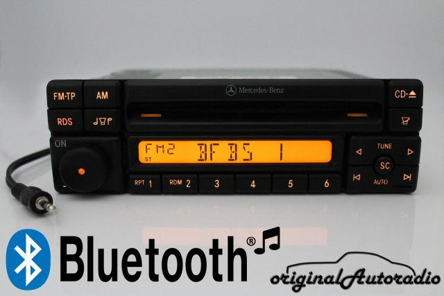 Verbazingwekkend Original-Autoradio.de - Mercedes Special MF2297 Bluetooth MP3 AUX UU-86