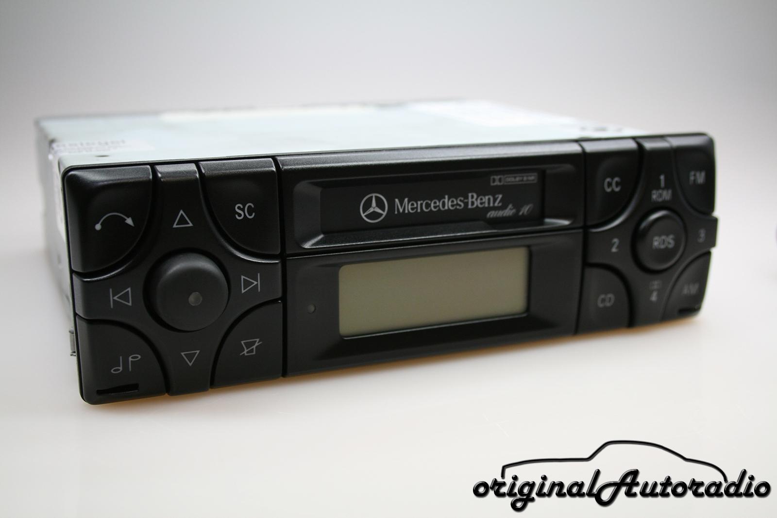original mercedes audio 10 be3100 cc rds. Black Bedroom Furniture Sets. Home Design Ideas
