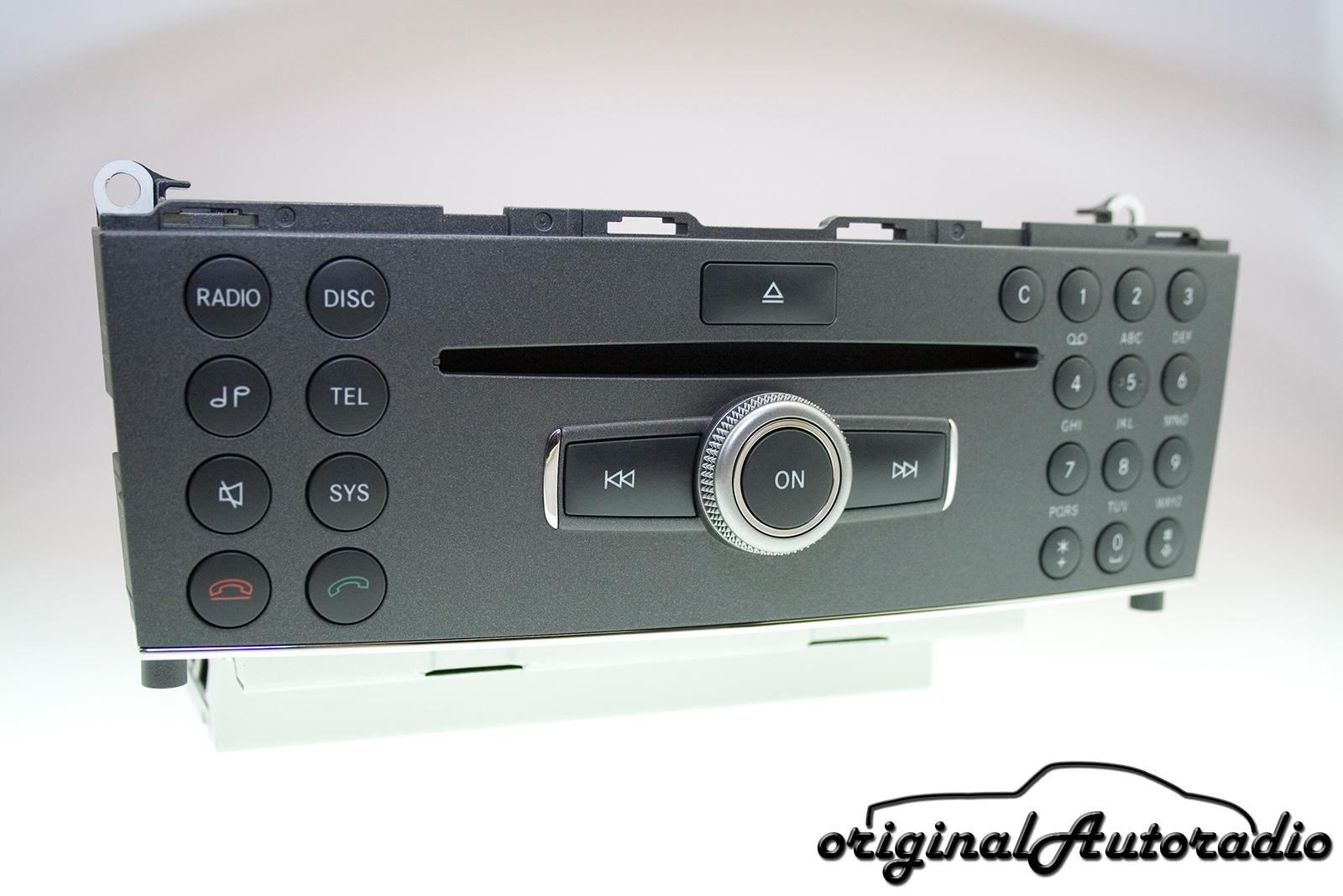 Original-Autoradio de - Mercedes W204 Radio Audio 20 CD Headunit MP3