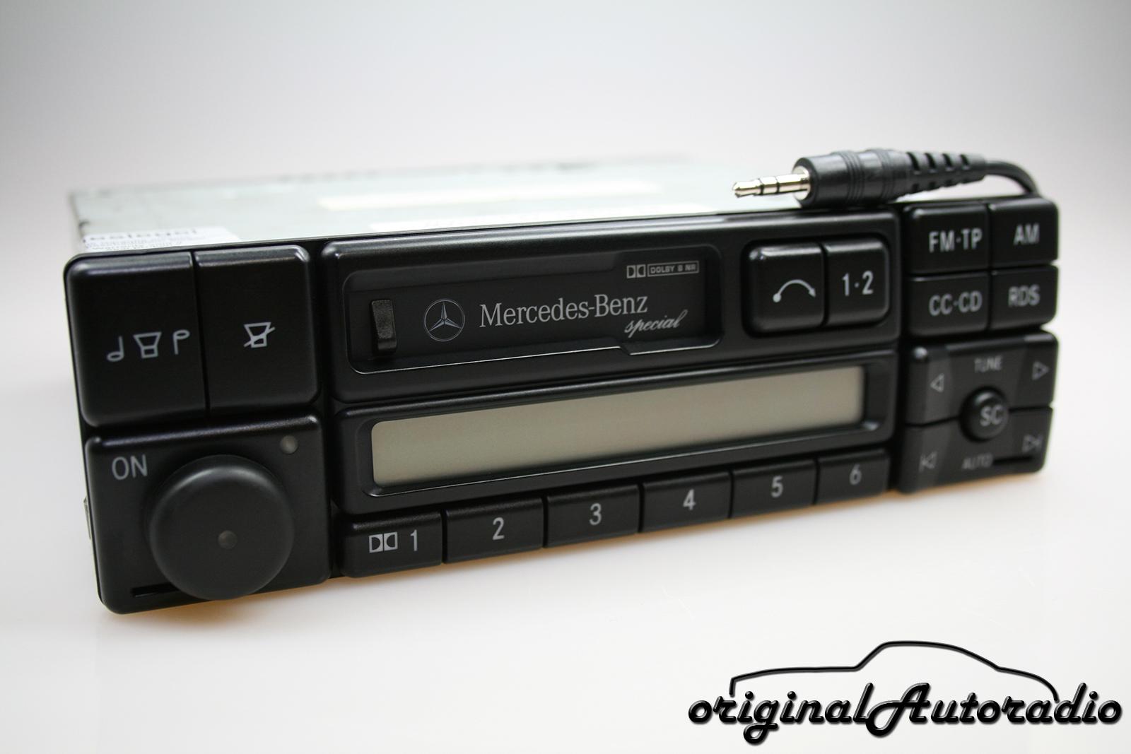 Original-Autoradio.de - Mercedes Special BE1650 CC AUX-IN Becker ...