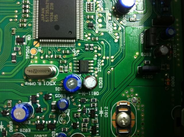 Reparatur Mercedes Alpine Becker Car Radio Navigation System