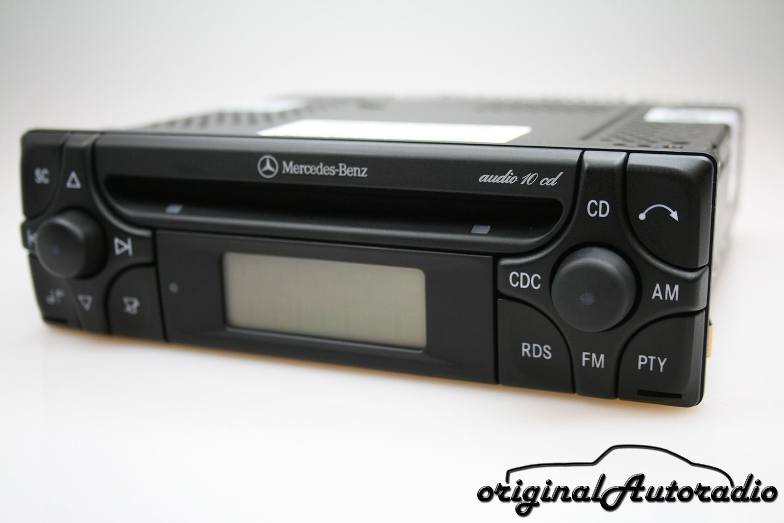 original mercedes audio 10 cd mf2910 cd r. Black Bedroom Furniture Sets. Home Design Ideas