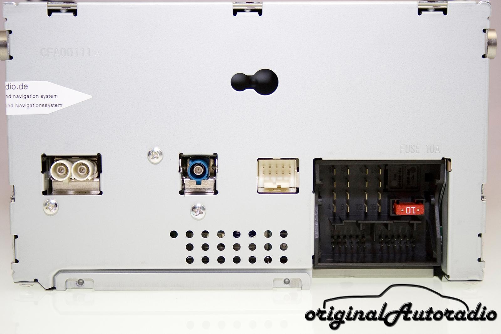 original mercedes w204 radio audio 20 cd. Black Bedroom Furniture Sets. Home Design Ideas
