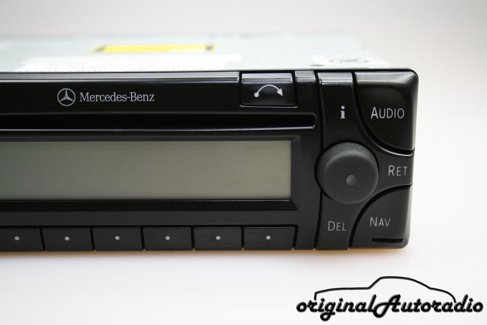 Original-Autoradio de - Mercedes Audio 30 APS BE4716 Becker