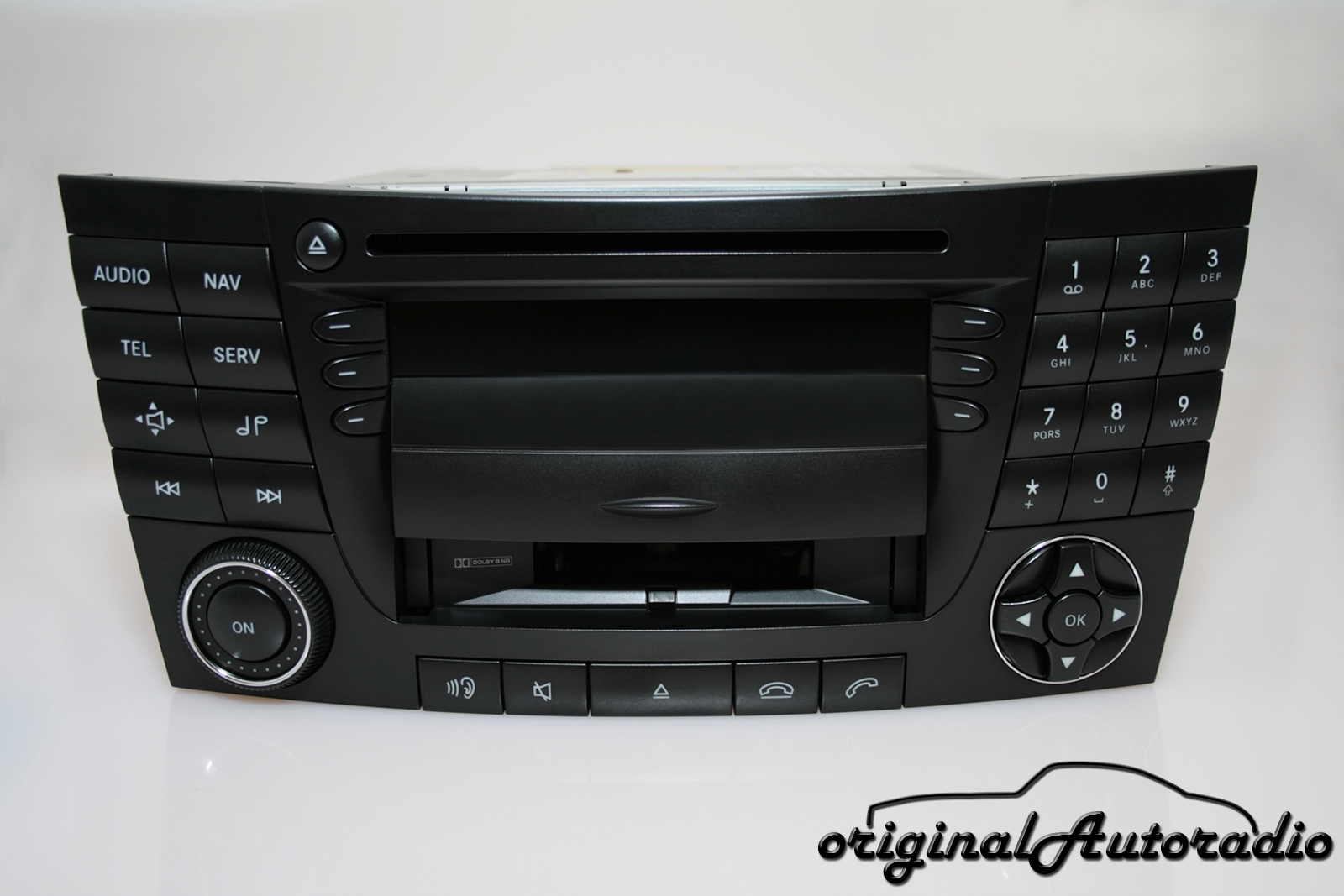 original mercedes audio 50 aps be6025 cd cc. Black Bedroom Furniture Sets. Home Design Ideas