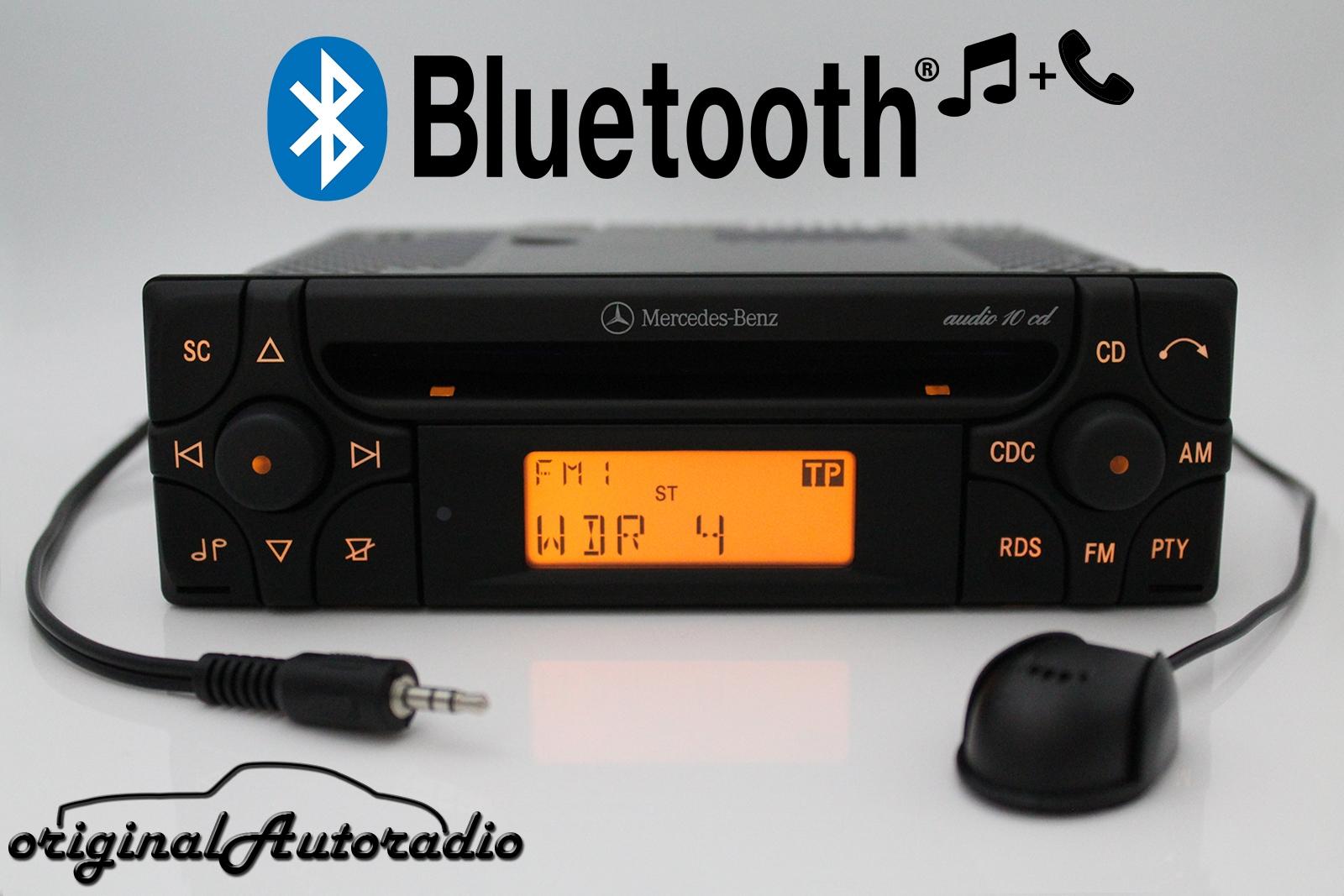 Original Autoradio De Mercedes Audio 10 Cd Mf2910