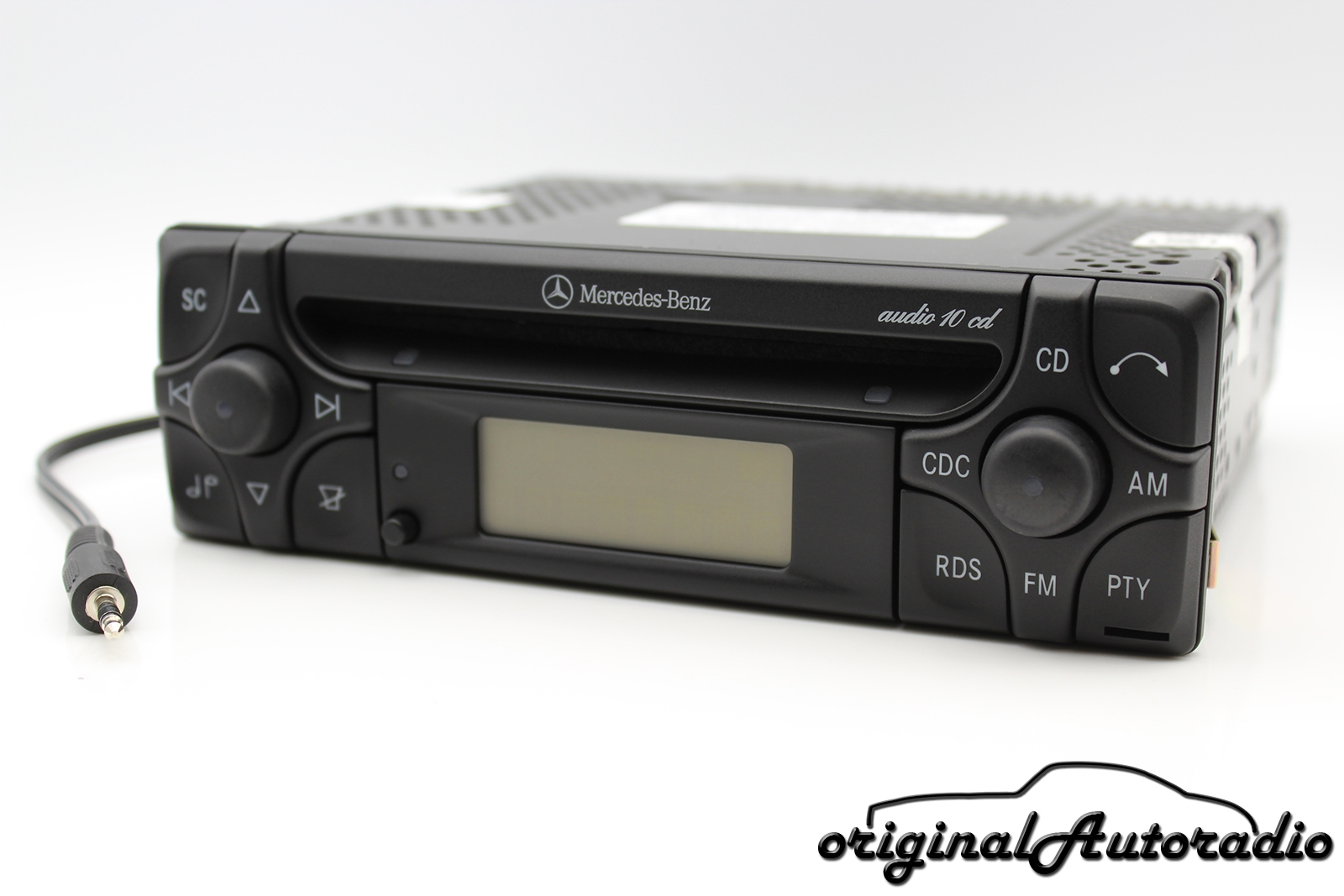 Original Autoradio De Im Austausch Mercedes Audio 10 Cd