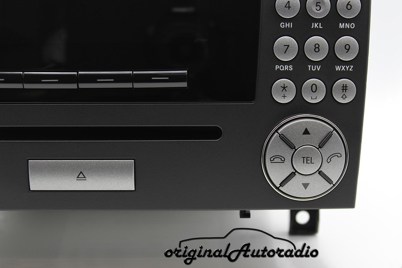 original mercedes audio 20 mf2420 cd w171. Black Bedroom Furniture Sets. Home Design Ideas